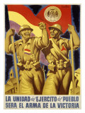 La Unidad del Ejercito del Pueblo Giclee Print