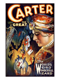 Carter the Great Magician Wizard Giclee Print