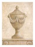 Vases classiques sépia II Affiche par Javier Fuentes
