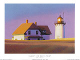 Sunset On Race Point Posters by Rob Brooks