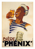 Biere Phenix Prints by Leon Dupin