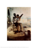 Henry Ossawa Tanner - The Banjo Lesson - Poster