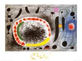 Liebeslied der Vogel Prints by Joan Miró