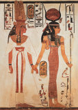 Egyptian Art, Nefertari Print