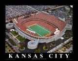 Kansas City Chiefs - Arrowhead Stadium Prints by Brad Geller