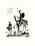 Don Quichotte Poster par Pablo Picasso