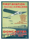 Doncaster First Aviation Air Show, c.1909 Giclee Print