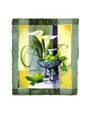 Manzanas verdes Láminas por Franz Heigl