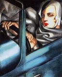 Selbstporträt Poster von Tamara de Lempicka