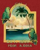 Hotel Oceano Affischer av Catherine Jones