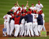 Cardinals -  2006 World Series Team Celebration Photo