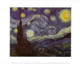 Starry Night, c.1889 Prints by Vincent van Gogh
