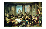 The Romans of the Decadence Giclee Print