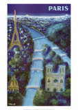 Paris Prints by Bernard Villemot