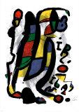 Joan Miró - Milán Plakát