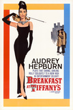 Filmposter Breakfast At Tiffany's, Audrey Hepburn Poster