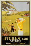 Hyeres Son Golf Prints