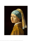 Girl with a Pearl Earring Posters van Jan Vermeer