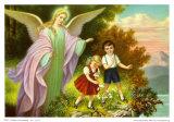Heiliger Schutzengel Poster by  Marsani