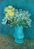 Vase of Lilacs, Daisies and Anemones, c.1887 Prints by Vincent van Gogh