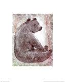 Bear Posters by Silvana Crefcoeur
