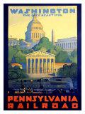Pennsylvania Railroad, Washington D.C. ジクレープリント : グリフ・テラー