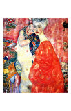 Girl Friends Giclee Print by Gustav Klimt