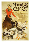 Motocycles Comiot Art by Th&#233;ophile Alexandre Steinlen