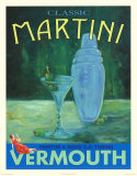 Classic Martini Posters by Robert Downs