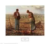 The Angelus, 1859 Prints by Jean-Fran&#231;ois Millet