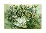Flower Aquarel I Prints by Elizabeth Veltman-Adriaansz