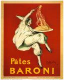 Pates Baroni, c.1921 Posters van Leonetto Cappiello