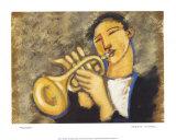 Trumpet Prints by Marsha Hammel