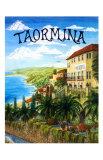 Taormina, Sicily, Italy Giclee Print by Caroline Haliday