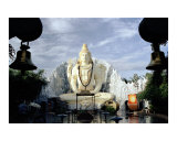 The Shiva Temple, Bangalore, India Photographic Print by George Epiphanoff