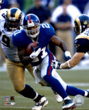 Tiki Barber - '05 / '06 Rushing Action Photo