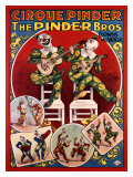 Cirque Pinder Giclee Print by Louis Galice