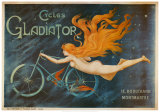 French Gladiator Bicycles Arte por Georges Massias