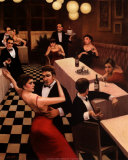 Tango I Plakater af T. C. Chiu