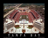 Raymond James Stadium, Tampa Bay, Florida Plakat av Mike Smith