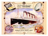 White Star Liner, The Titanic Giclee Print