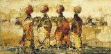 Horizon d'Afrique Poster par  Hassan