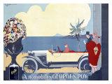 Automobiles, Georges Roy Giclee Print by  Stoyanovitz