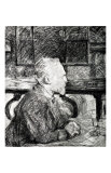 Vincent Van Gogh Giclée-tryk af Henri de Toulouse-Lautrec