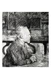 Vincent Van Gogh Giclee Print by Henri de Toulouse-Lautrec