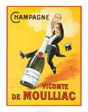 Vicomte de Moulliac (Champagner) Kunst