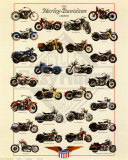 Harley Davidson Legend Prints