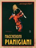 Makkaroni Pianigiani, 1922 Poster von Achille Luciano Mauzan