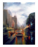 Windy City Giclee Print by Mikhail Onanov