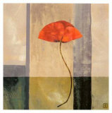 Red Poppies II Prints by Philippe Paput